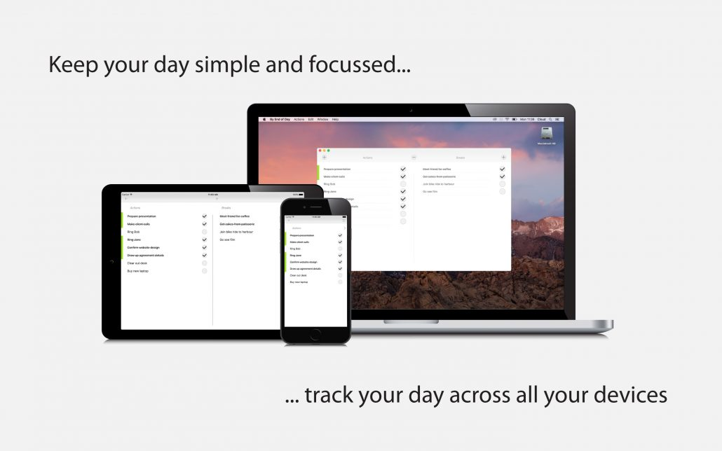 By End of Day on all devices